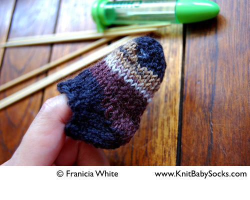 November 2011 Knit Baby Socks