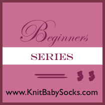 Knitting Baby Socks  Beginners Series  You don t have to be a knitting expert to learn how to make a baby sock 1