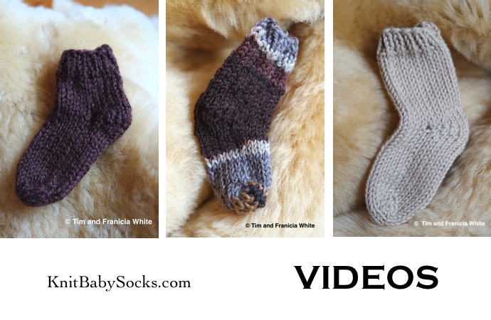 Knitting Socks For Beginners : Sock knitting for beginners knit baby socks